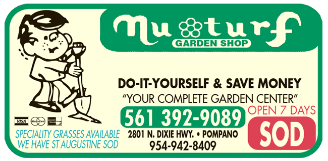 Nu Turf Garden Shop Open 7 Days A Week